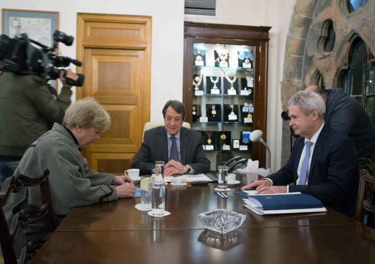 Anastasiades to seek meeting with Akinci