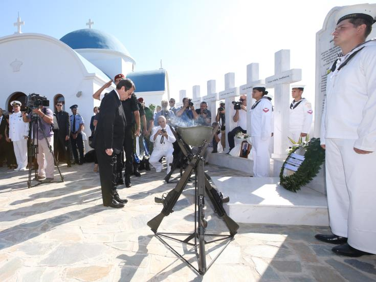 President: Crucial to reach solution that will bring peace and security across Cyprus