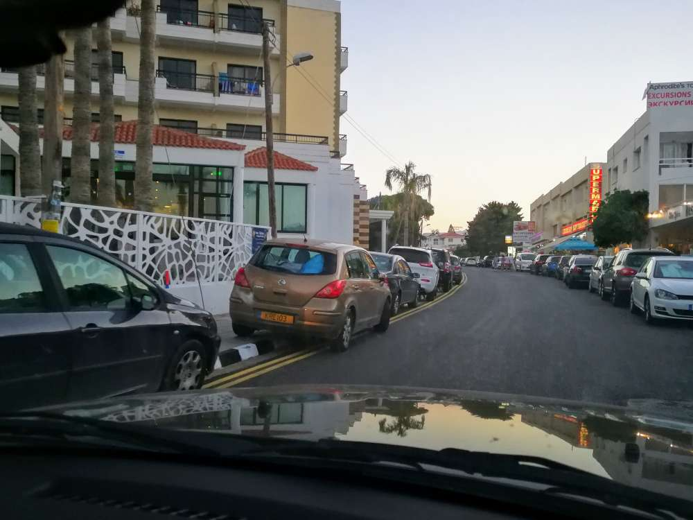 Public frustrated with illegal parking in Protaras (photos)