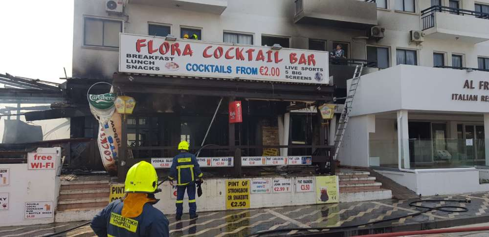 Protaras pub and restaurant gutted by fire