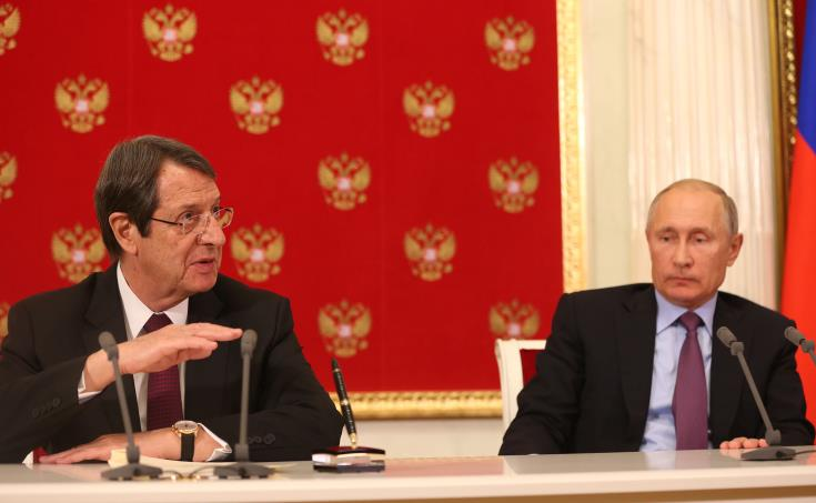 Anastasiades to hold a meeting with Putin in China