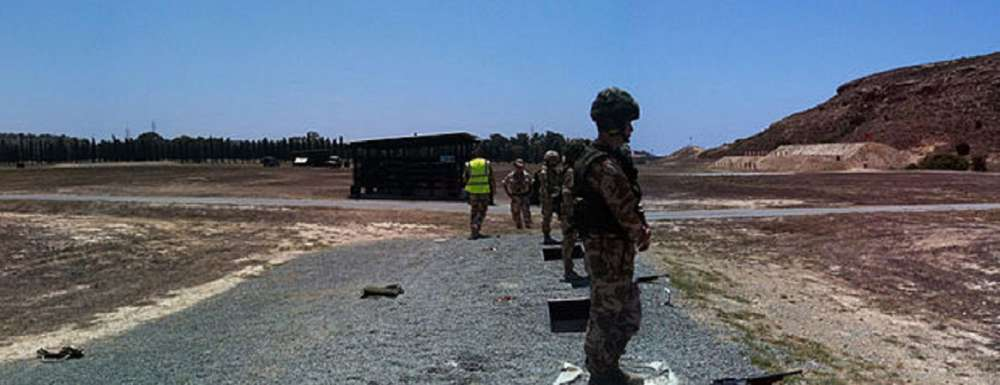 British troops exercise in Pyla - Forces.net (video)