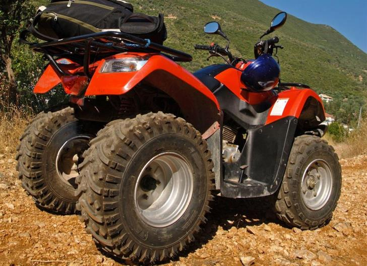 Young man injured in Akamas after quad bike falls off cliff