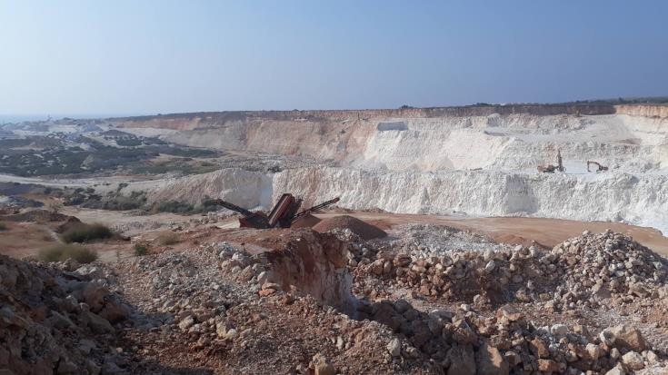 Plans for a possible new quarry zone in Larnaca have been frozen
