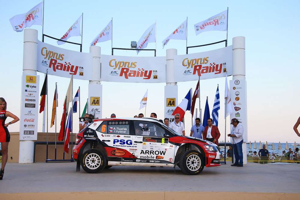 The city of Larnaca prepares to host the Cyprus Rally 2018