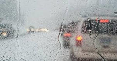 Police: slippery roads; low visibility because of fog in the mountains