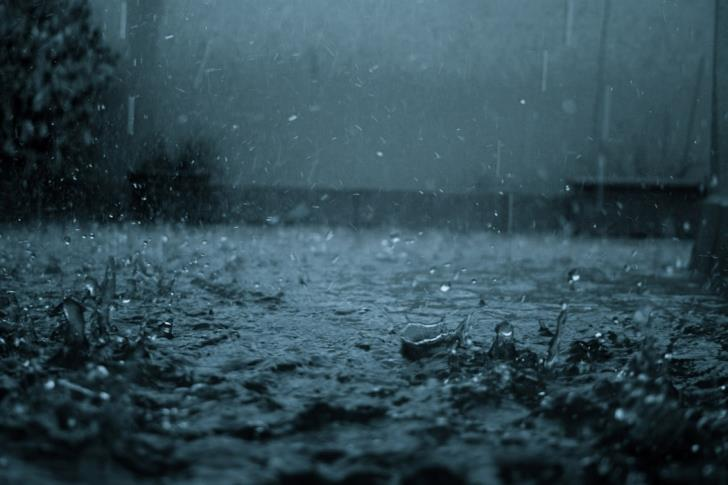 October rainfall more than average (statistics)