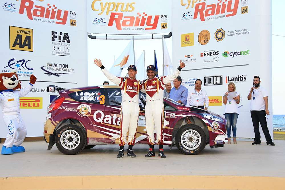Cyprus Rally gets underway with a ceremonial start in Larnaca