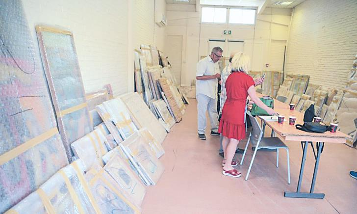 G/C and T/C art exchanged in confidence-building move to be exhibited at Ledra Palace