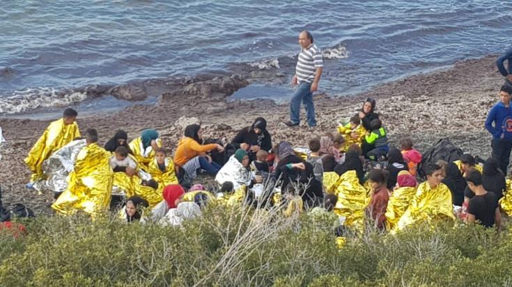 U.N. refugees chief says Greece is feeling the strain