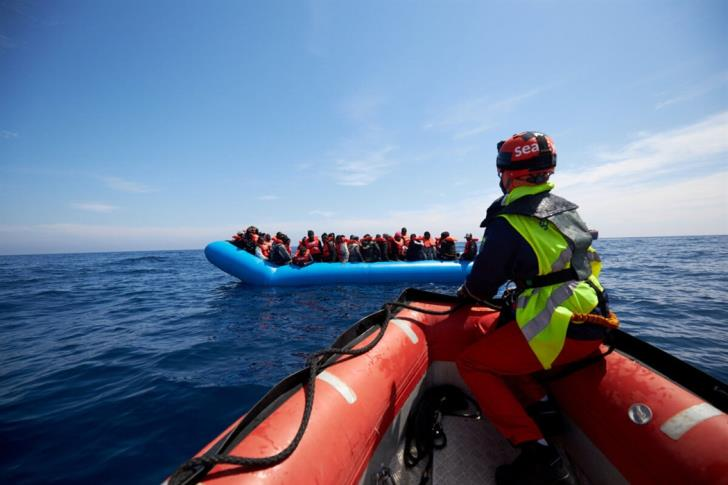 Four children among 20 refugees rescued from boat adrift off Cape Greco