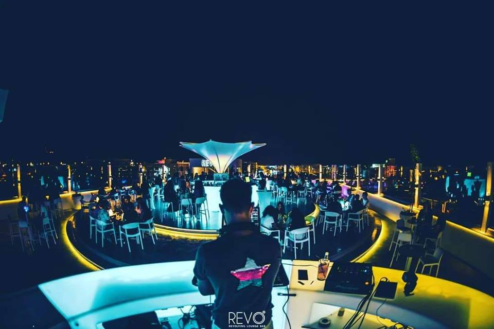 Revolving Lounge Bar