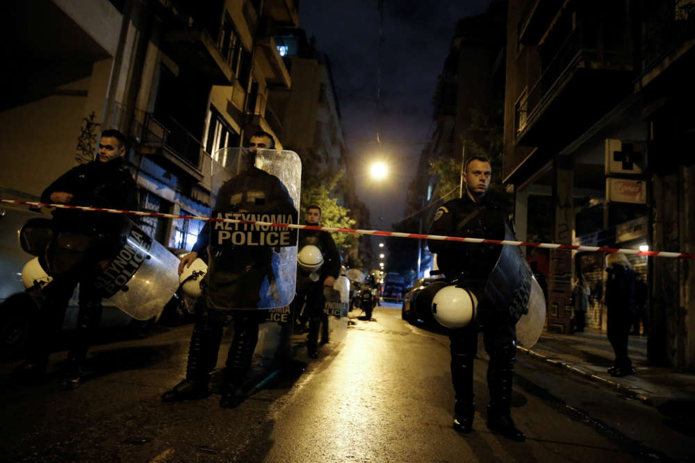 Police find rifle linked to 2014-17 Athens attacks