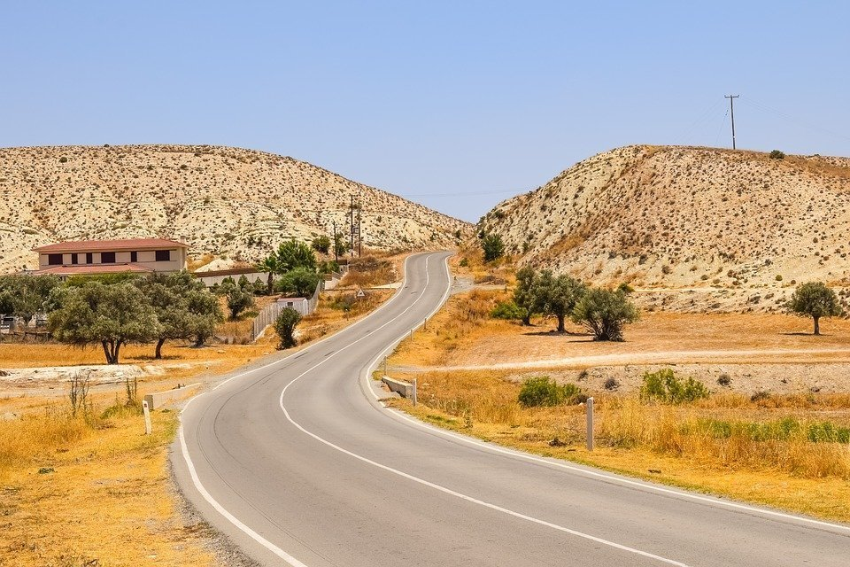 Road, Summer, Countryside, Landscape, Scenery, Rural