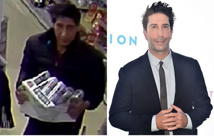 Police arrest suspect who looks like Ross from Friends