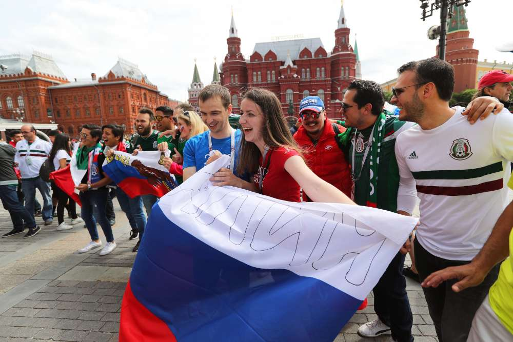Russia has set the world cup table. Will Russians embrace the party?