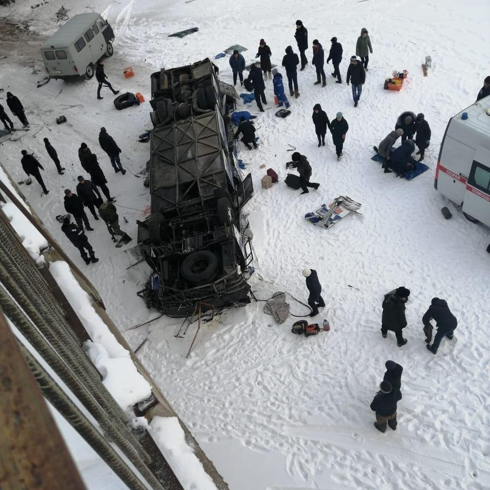 Nineteen people killed in bus crash in Russia's far east - local govt