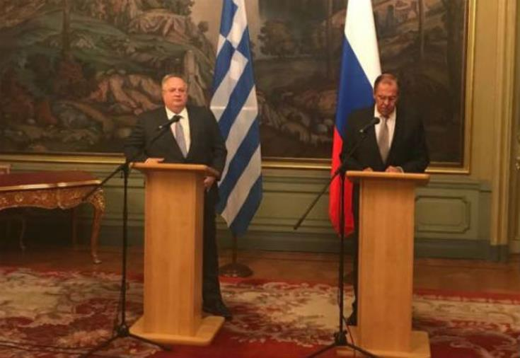 Russia and Greece call for a Cyprus settlement based on UN resolutions