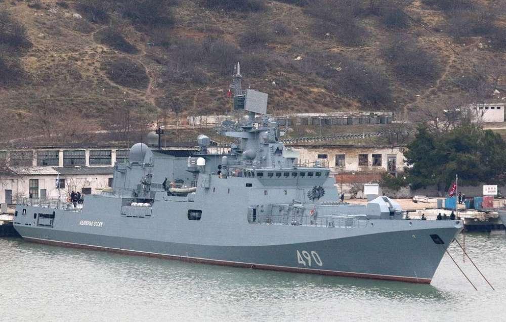 Russian navy ship visits Limassol port