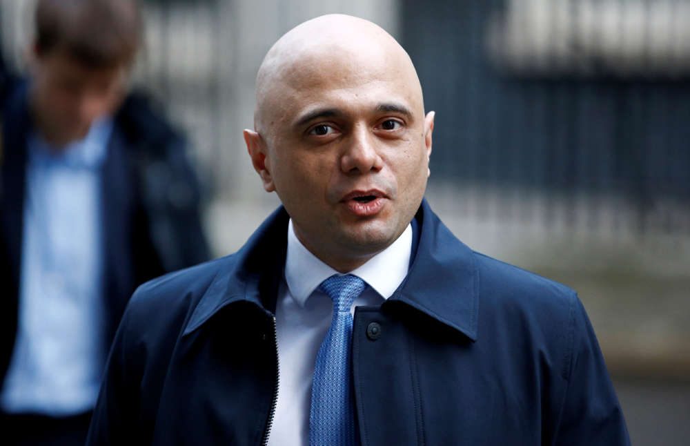 UK's Javid aims to double UK growth after Brexit -FT