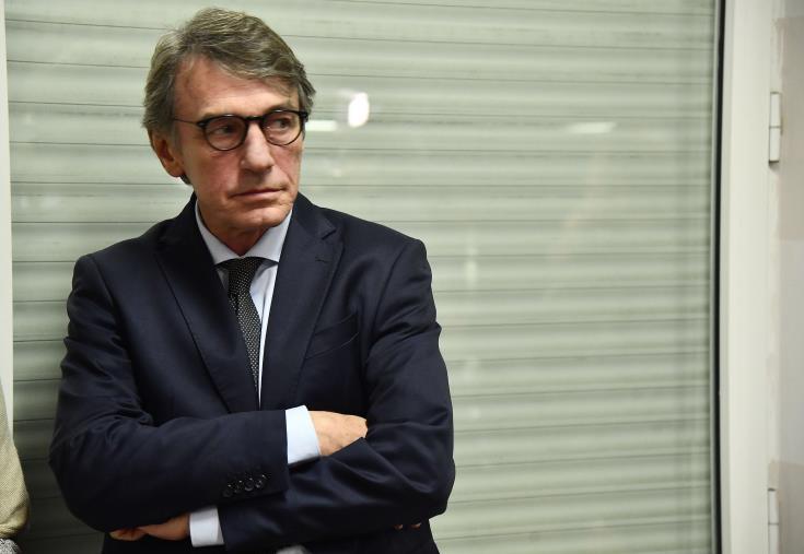 Head of EU parliament Sassoli in self-isolation as precaution