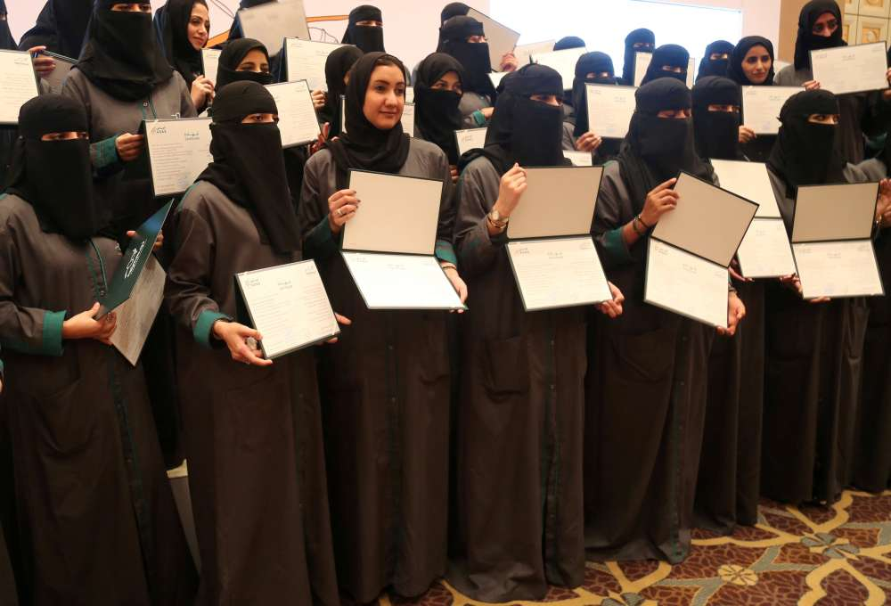 Saudi female car accident claims inspectors ready for women driving