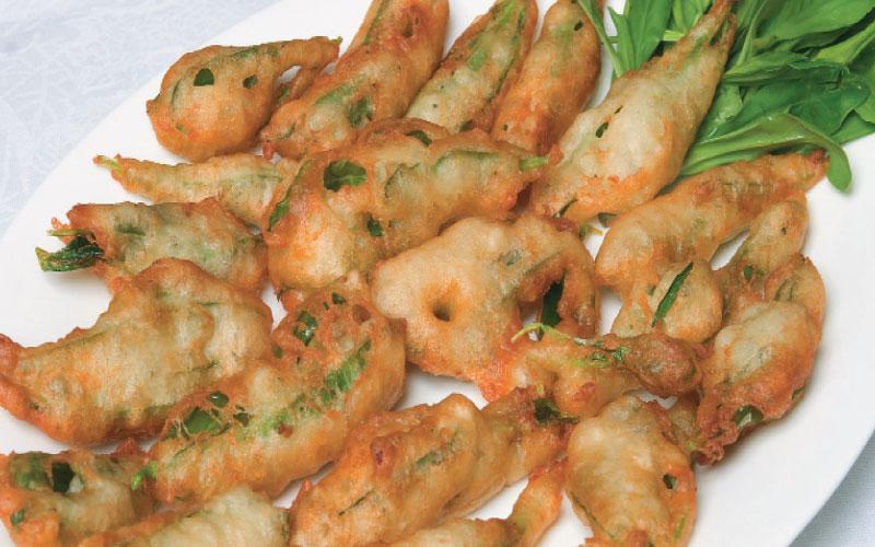 Savoury fritters (Lenten)