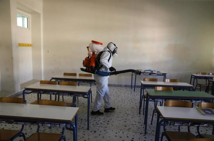 Coronavirus: Additional measures for school disinfections