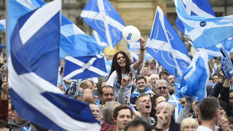 Brexit drives support for Scottish independence to 49 pct-YouGov