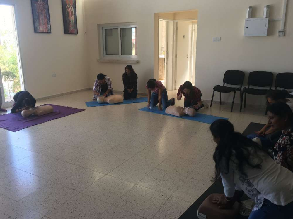 First-aid seminars for 3rd country nationals in Paralimni