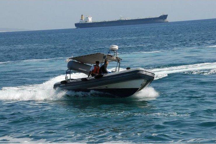 Marine police transfers ill ship passenger to hospital