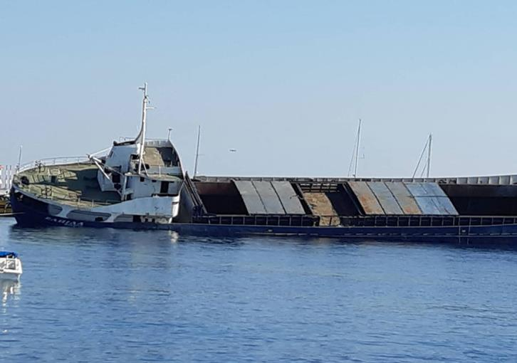 Larnaca: The Elpida sunk to create artificial reef (video)