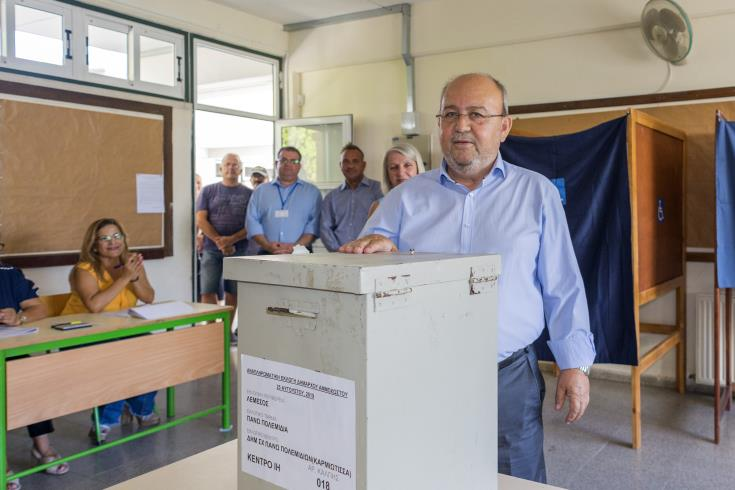 Simos Ioannou elected new Famagusta mayor
