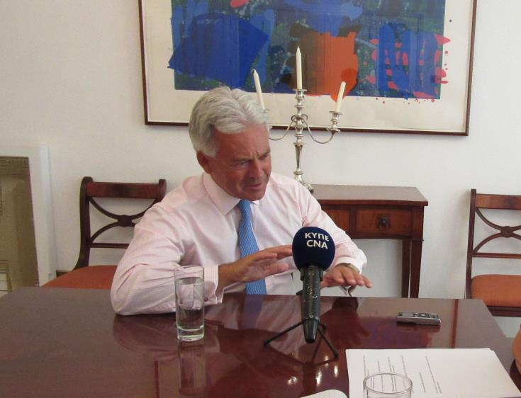 Cyprus High Commissioner formally conveys government's strong objections on Duncan΄s remarks
