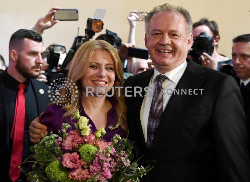 Caputova wins Slovakia's presidential elections