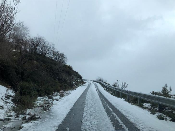 New yellow alert as wintry weather continues to grip Cyprus