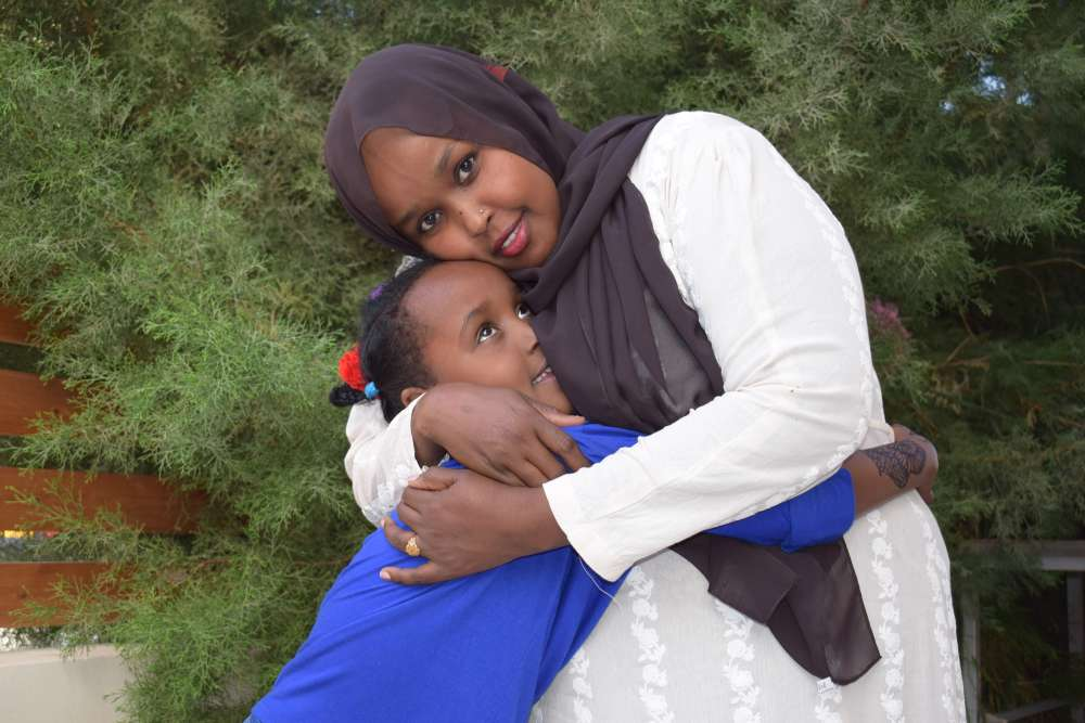 Somali mother and daughter reunited in Cyprus after 3 year separation
