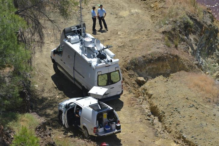 Sonar system employed to assist search for victims in Mitsero lake