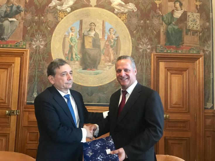 Education Minister discusses cooperation between Cyprus Universities and Sorbonne University