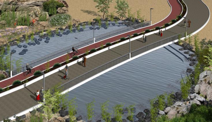 Sotira municipality unveils plans for coastal front