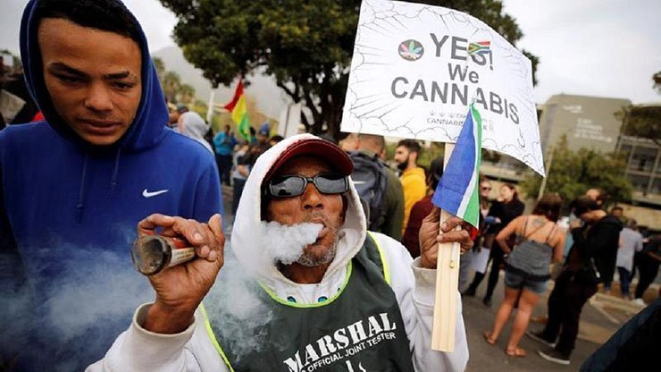 South Africa's highest court gives green light to private use of cannabis (video)