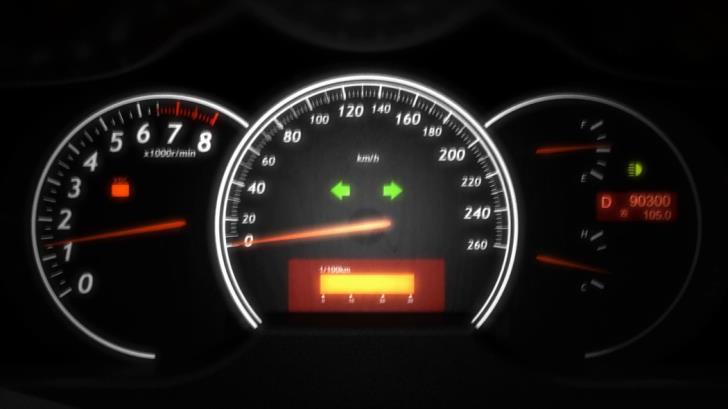 Driver caught speeding