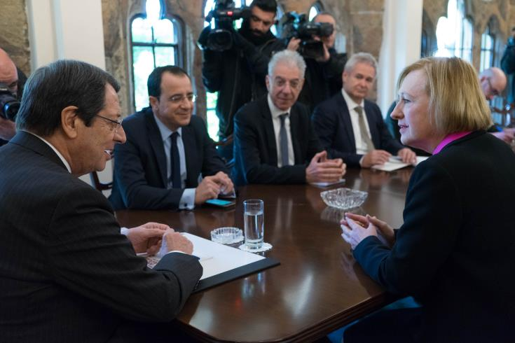 President to meet with UN representative in Cyprus on Friday