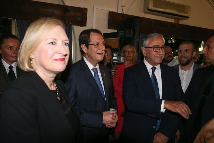 Anastasiades and Akinci to attend UN end of the year reception on Tuesday