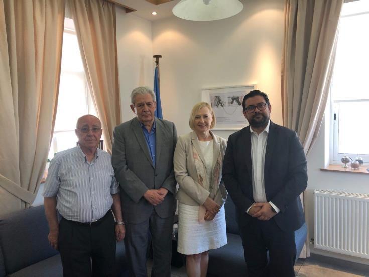 Spehar meets Famagusta Mayor