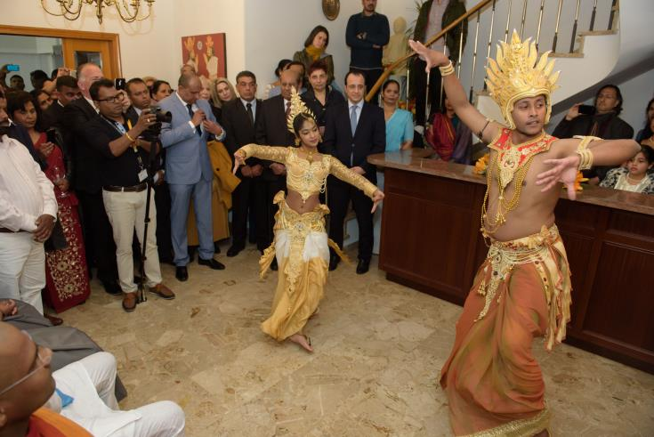 Sri Lanka's Foreign Minister inaugurates Consulate in Nicosia