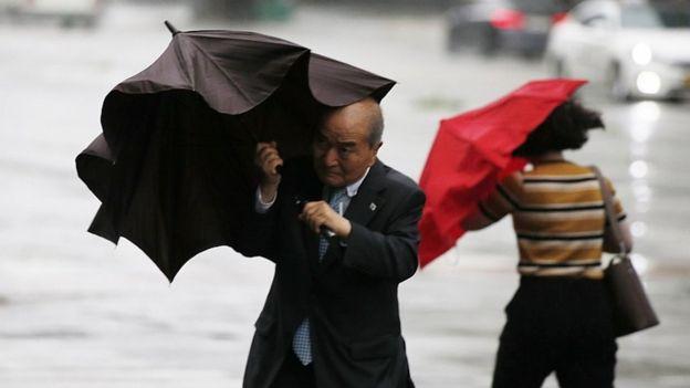 North Korea says typhoon killed five