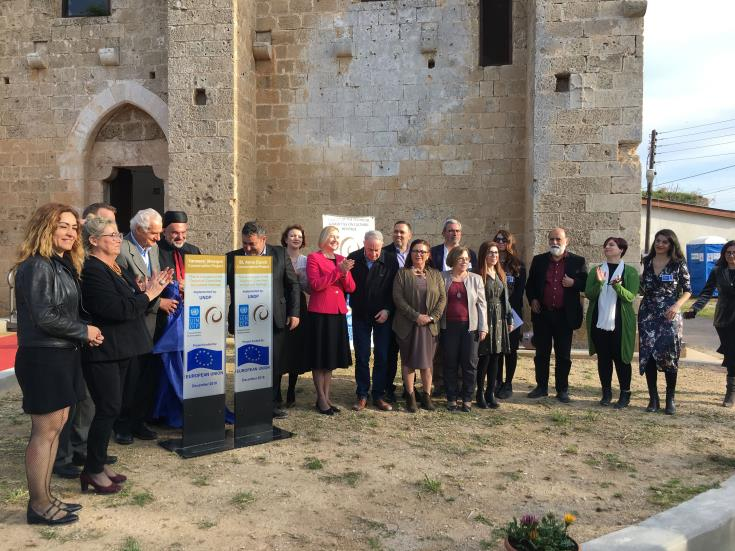 Restored church and neighbouring mosque reopen in Famagusta