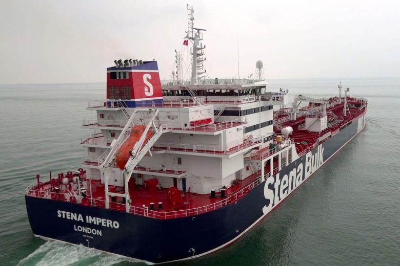 Iran says UK-flagged tanker 'ignored distress call