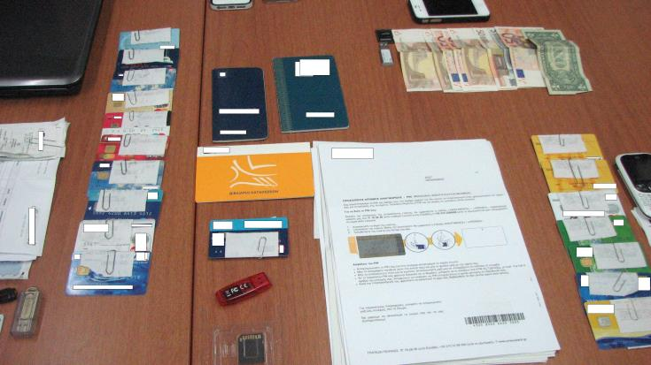 Police find fake credit cards at Paphos apartment